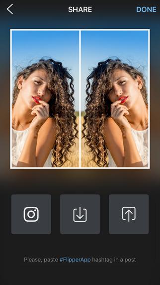 Flipper - Mirror Image Reflection Photos Editor Screenshots
