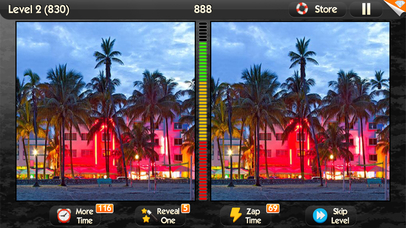 Screenshots of What's the Difference? ~ spot the differences in this photo hunt puzzle of hidden object games for iPhone