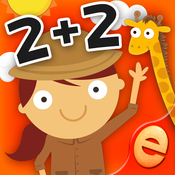 Animal Math Games for Kids in Pre-K, Kindergarten and 1st Grade Learning Numbers, Counting, Addition and Subtraction Premium [iOS]