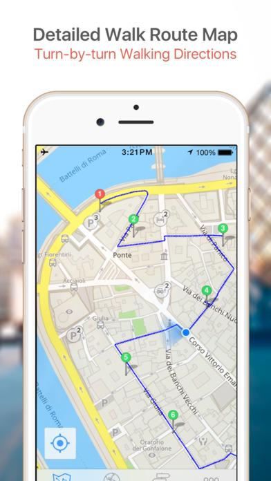 Miami Walking Tours and Map iPhone Screenshot 4