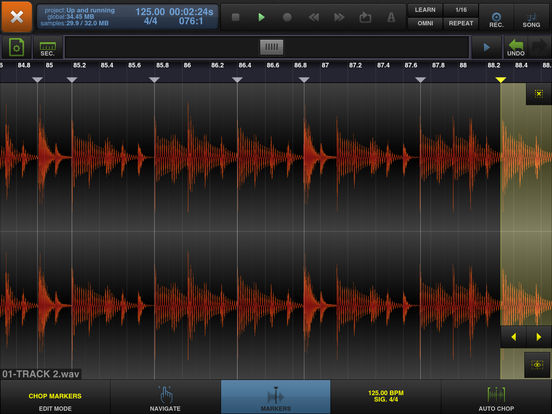 BeatMaker 2 - Audio & Music Production/Composition Screenshots