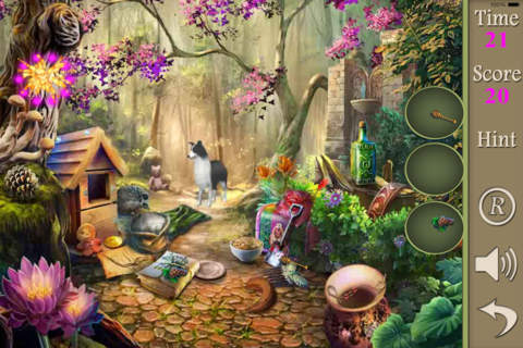 Hidden Objects Of The Enchanted Forest screenshot 1