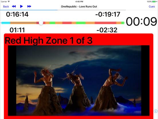 MyFitnessDJ iPad Screenshot 1