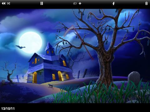 Unlimited Halloween HD Screams & Wallpapers iPad Screenshot 2