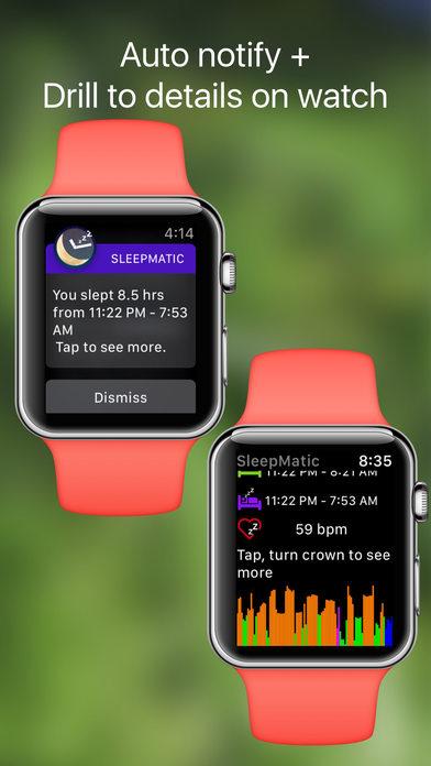 App Shopper Sleep Tracker Auto Sleep Cycle Watch Monitor