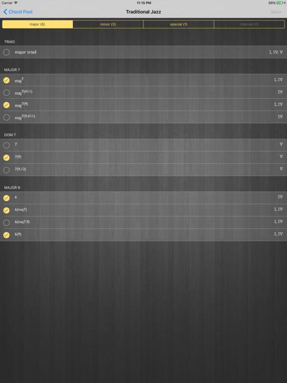 Random Chord Screenshots