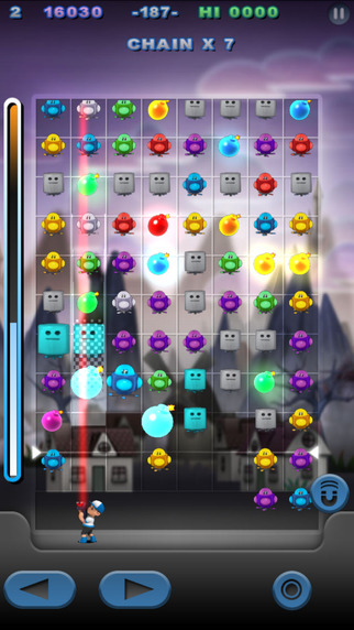 Puzzle Bot Blast iPhone Screenshot 5