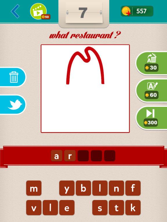 What Restaurant ?screeshot 2