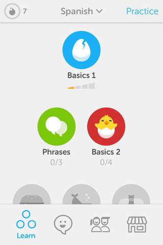 Duolingo screenshot 1