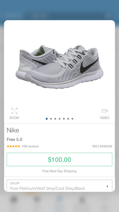 Zappos: shop shoes & clothes, fast free shipping screenshot