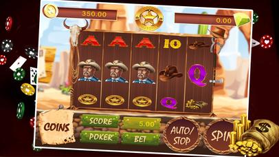 Screenshot 1 США Ковбой 7 Игровые автоматы — Fun отпуск покер м