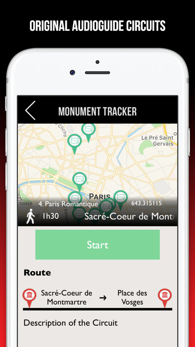 Nice Guide Voyage Monument Tracker - Carte Offline screenshot 4