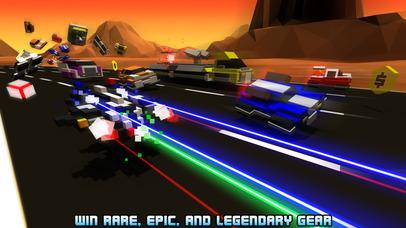 Screenshots of Hovercraft: Takedown - Custom Combat Cars for iPhone