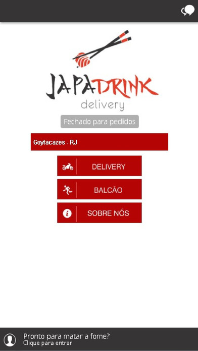 Japa Drink Delivery screenshot 1