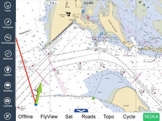 Marine: Oregon - Washington HD iPad Screenshot 1
