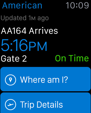 American Airlines iPhone Screenshot 12