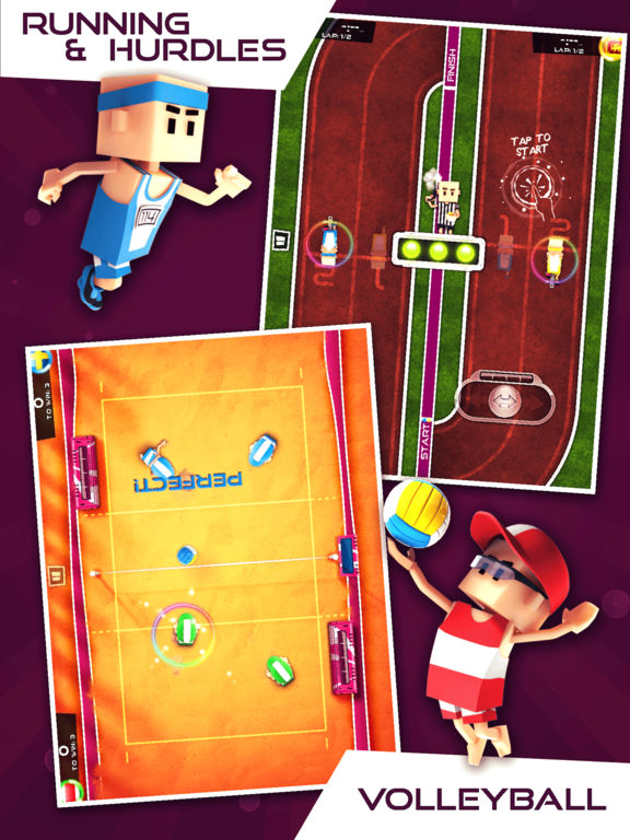 Flick Champions Summer Sports Screenshots