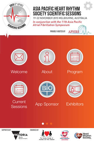APHRS 2015 screenshot 1
