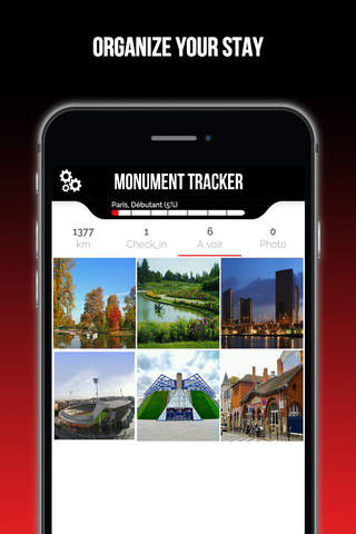 Madrid Guide voyage Monument Tracker carte offline screenshot 4