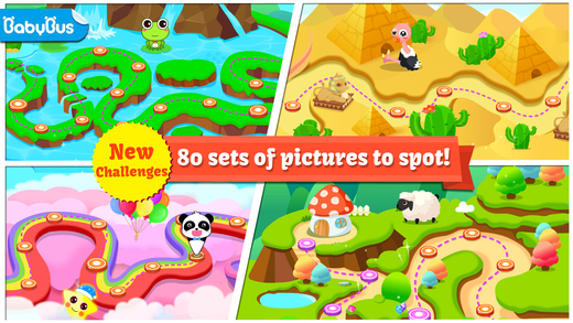 Let's Spot by BabyBus Screenshots