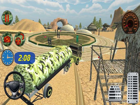 Off Road Army Oil Truck Drive screenshot 5