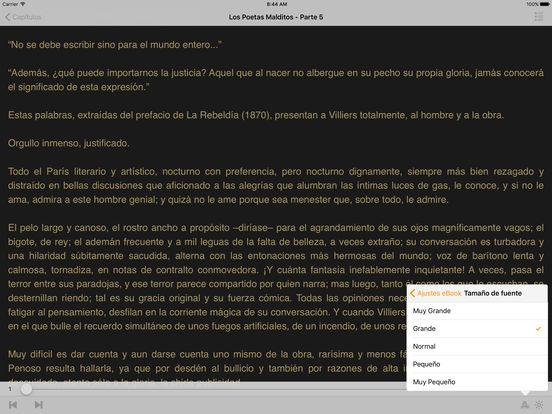 Los Poetas Malditos iPad Screenshot 2