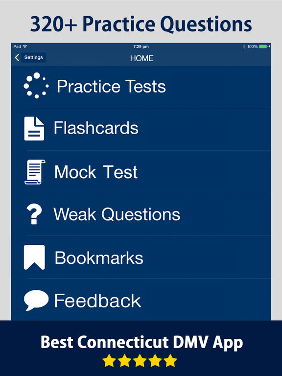 Connecticut DMV Driving Practice Exam 2017 on the App Store