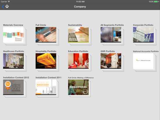 3form Presentations iPad Screenshot 2