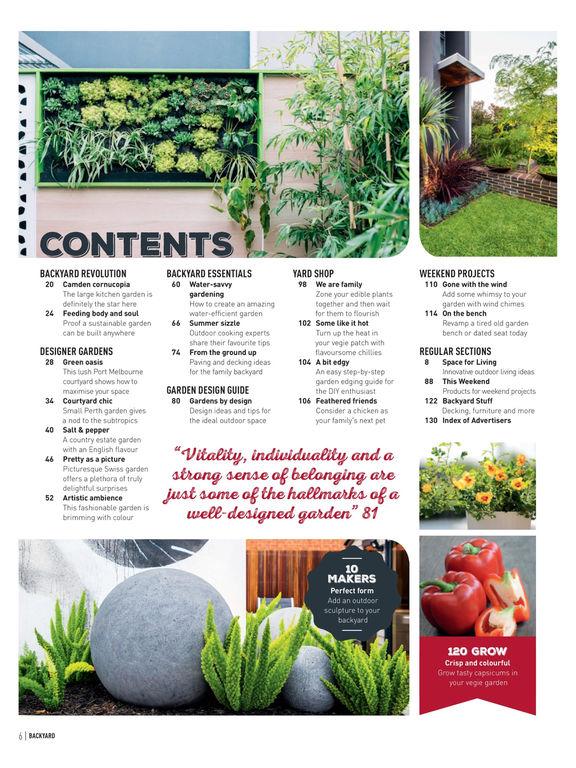 Backyard Garden Design Ideas Magazine Australia