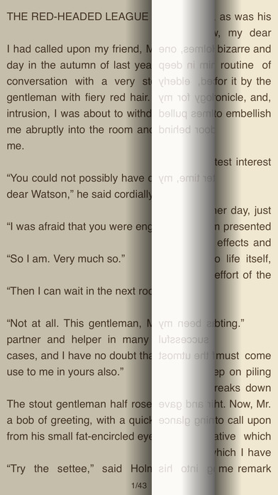 The Red-Headed League – AudioEbook iPhone Screenshot 2