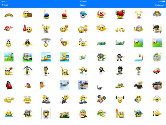 Animated 3D Emoji Emoticons screenshot 10