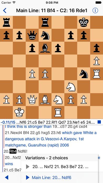 Chess Viewer iPhone Screenshot 2