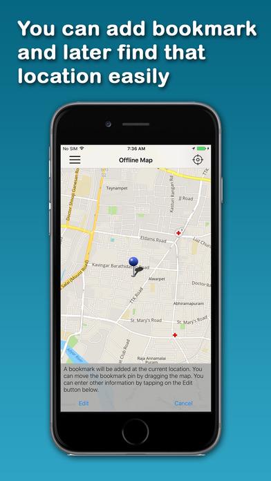 AHI's Offline Singapore iPhone Screenshot 3