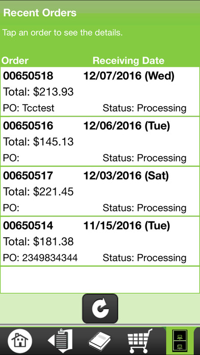 Screenshots for Produce Pro Checkout