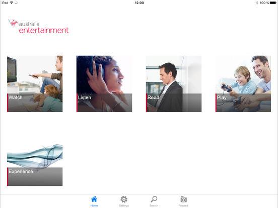 in flight entertainment by virgin australia hd on the app. Black Bedroom Furniture Sets. Home Design Ideas