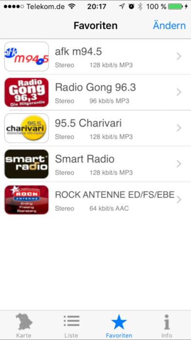 Lokalradio iPhone Screenshot 4