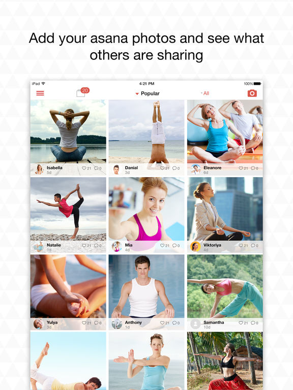 Yoga.com: 300 Poses & Video Classes Screenshots