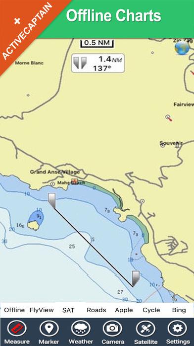 Seychelles HD - Travel Map Navigator iPhone Screenshot 2