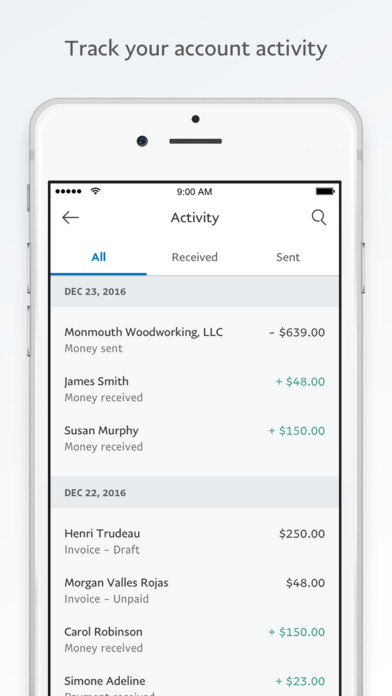 Paypal Business - Send Invoices And Get Paid On The App Store