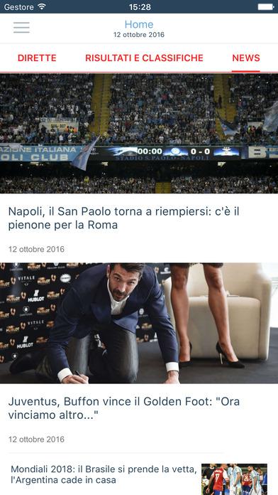 Repubblica Sport Dirette iPhone Screenshot 1