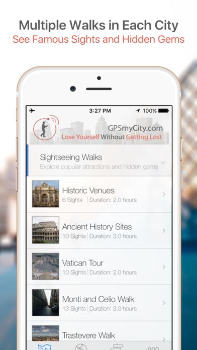 Lyon Map and Walking Tours iPhone Screenshot 1
