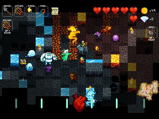 Crypt of the NecroDancer Pocket Edition Screenshots
