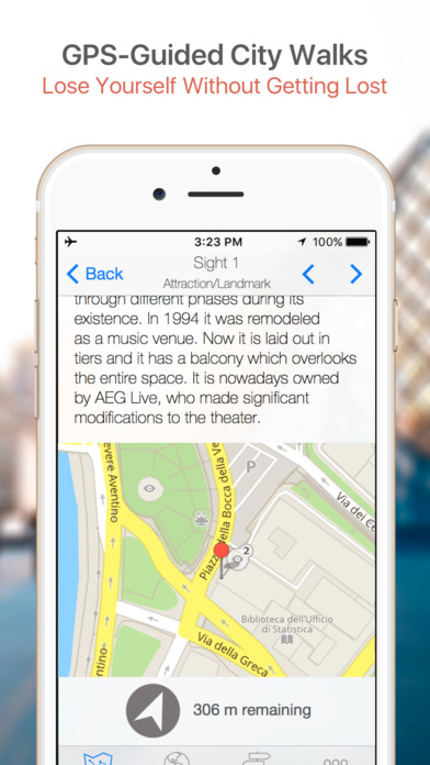Mexico City Walking Tours and Map iPhone Screenshot 3