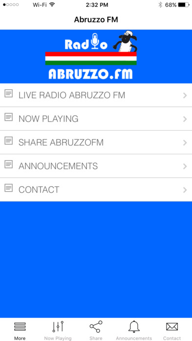Radio Abruzzo FM iPhone Screenshot 1