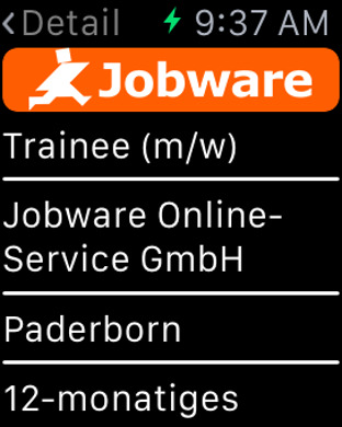 Jobware iPhone Screenshot 7