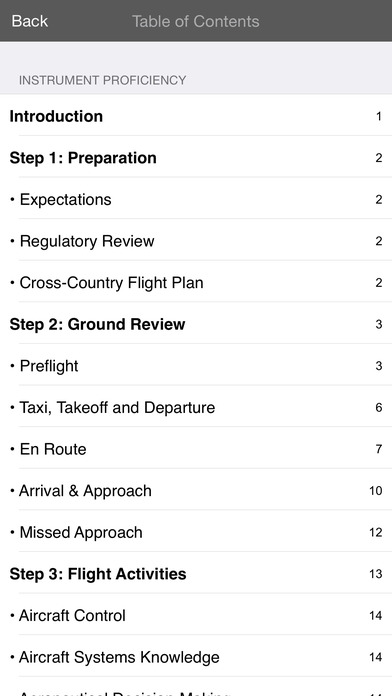 Instrument Proficiency Check iPhone Screenshot 3
