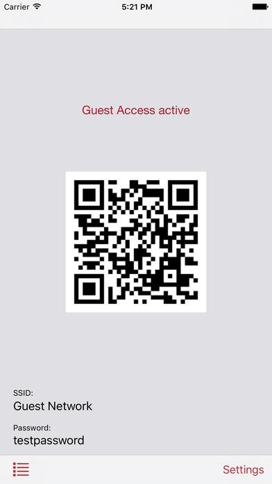 Fritz!Box Guest Access iPhone Screenshot 3