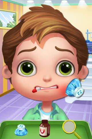 甜心宝贝的牙科手术 - 可爱小孩的牙医,儿童牙齿治疗护理