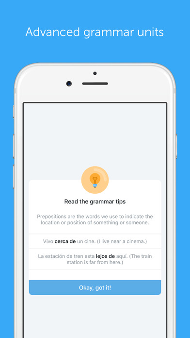 Learn Spanish with busuu.com! iPhone Screenshot 4
