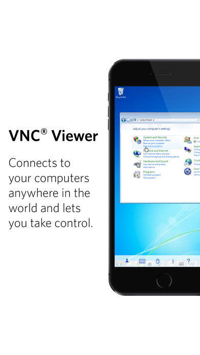 VNC Viewer Screenshots